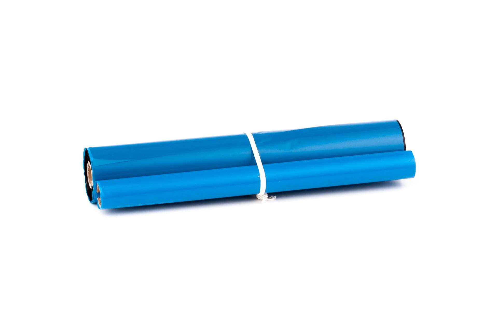 Ruban de telecopieur (alternatif) compatible à Brother PC 302 RF / Twinpack  / Brother FAX 750 / 760 / 770 / 870 MC / 910 / 920 / 921 / 930 / 931 / 940 Email / Intellifax 750 / 770 / 775 / 870 / 870 MC / 885 MC / MFC 870 MC / etc.