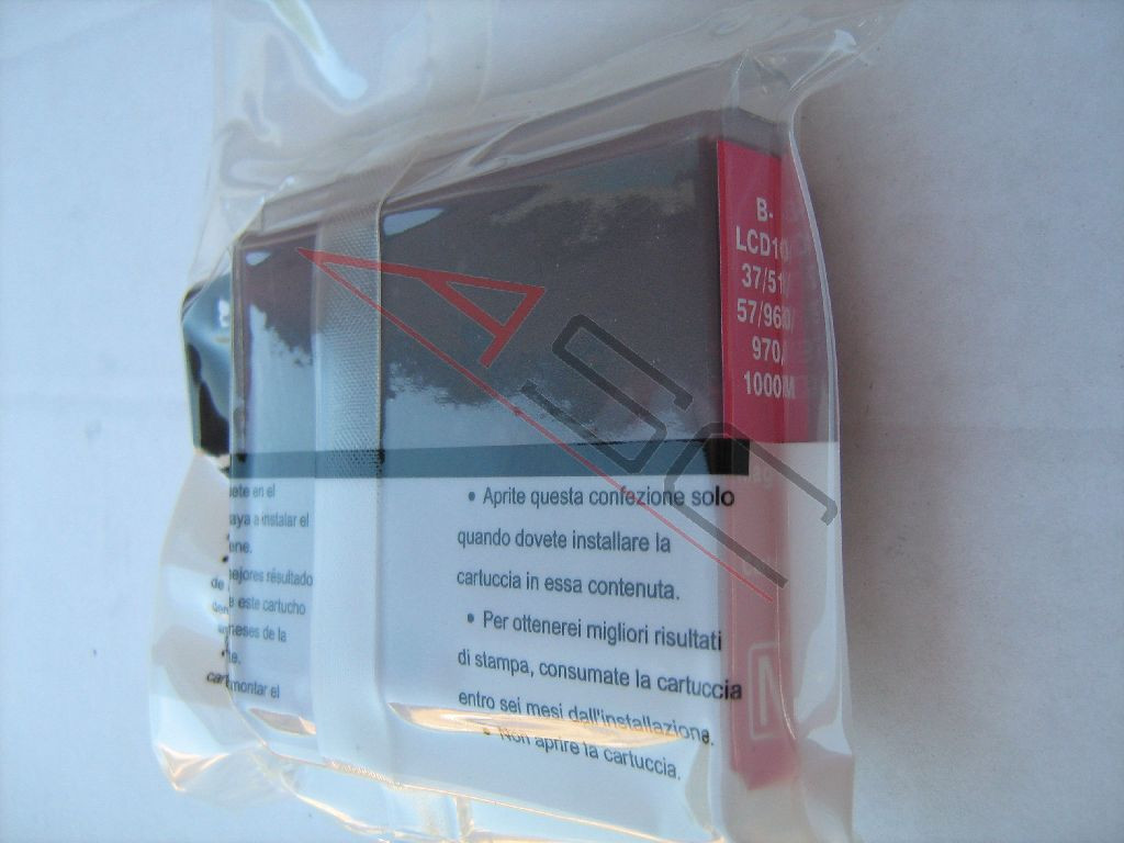 Encre (alternatif) compatible à Brother LC1000 magenta