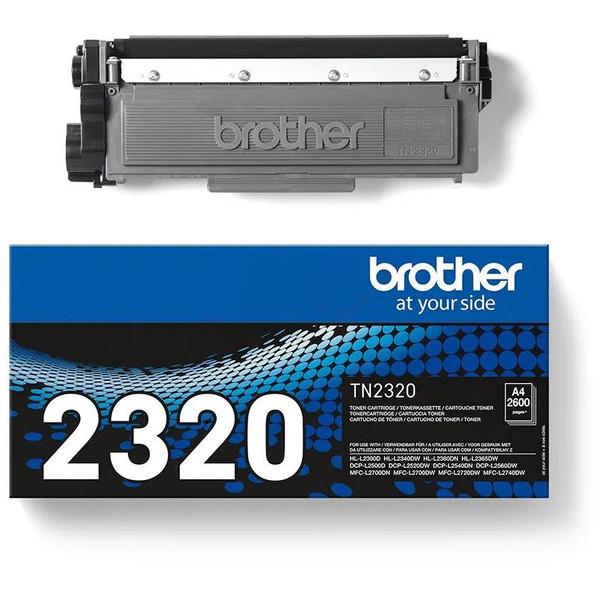 Original Toner schwarz Brother TN2320 schwarz