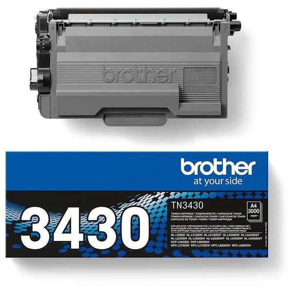 Original Toner schwarz Brother TN3430 schwarz