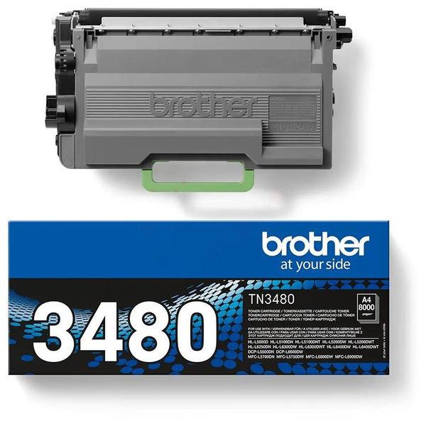 Original Toner schwarz Brother TN3480 schwarz