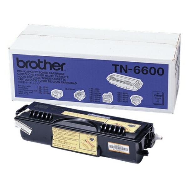 Original Toner schwarz Brother TN6600 schwarz