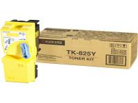 Original Toner jaune Kyocera 02FZAEU0/TK-825 Y jaune