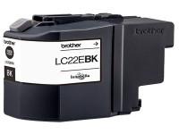 Original Cartouche d'encre noire Brother LC22EBK noir