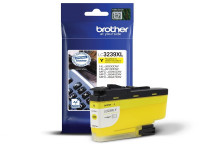 Original Cartouche d'encre jaune Brother LC3239XLY jaune