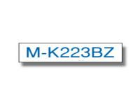Original P-Touch Farbband Brother MK223BZ blau weiß