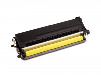 Cartouche de toner (alternatif) compatible à Brother TN 328 Y / TN328Y - HL 4570 CDW / HL 4570 Cdwt / MFC 9970 CDW / DCP 9270 CDN jaune