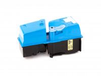 Cartouche de toner (alternatif) compatible à Kyocera/Mita - 1T02FZCEU0 /  TK825C /  TK-825 C - KM-C 2520 cyan